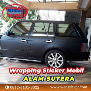 Wrapping Sticker Mobil Alam Sutera