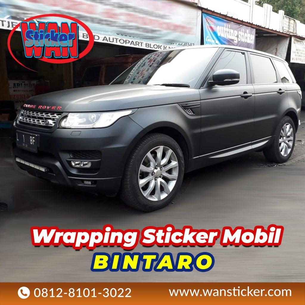 Wrapping Sticker Mobil Bintaro
