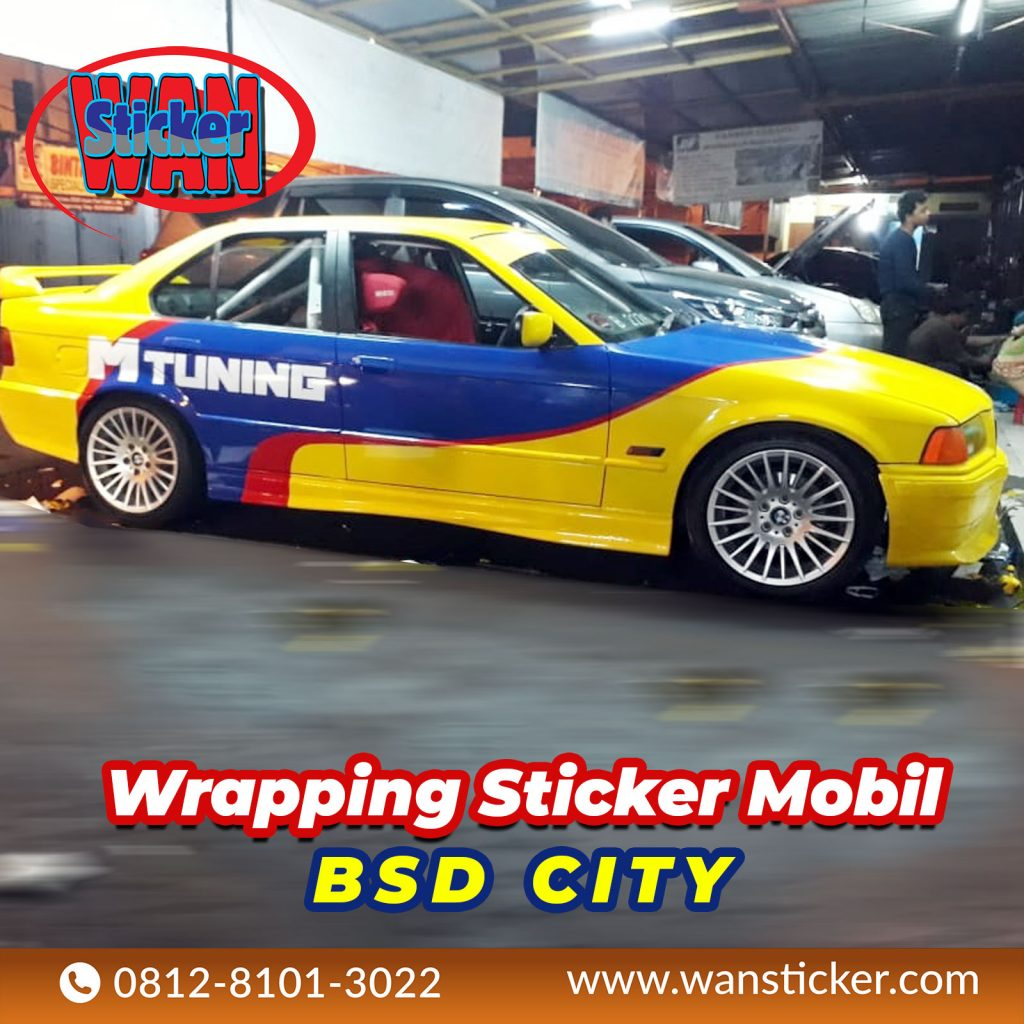 Wrapping Sticker Mobil BSD