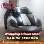 Wrapping Sticker Mobil Gading Serpong