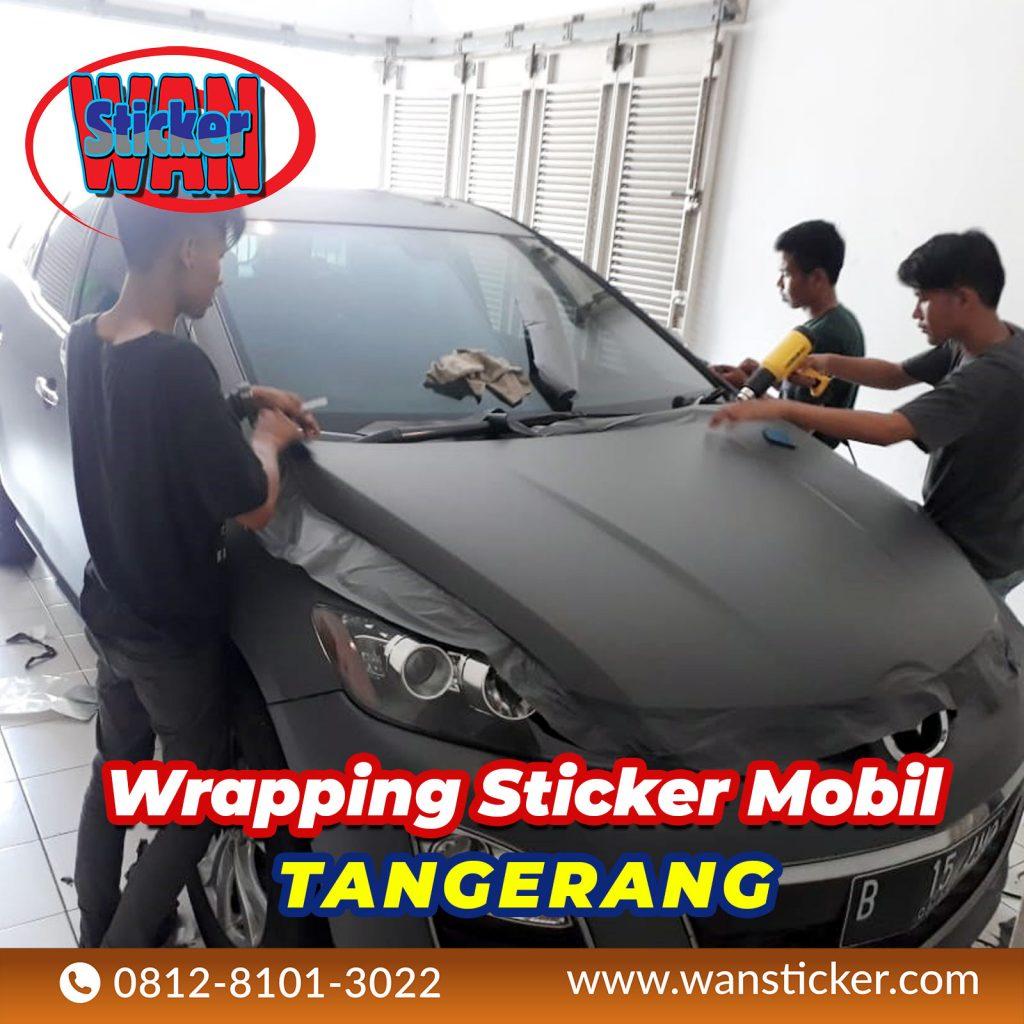Wrapping Sticker Mobil Tangerang
